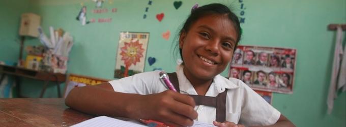 Foto: Sebastián Castañeda / Niños del Milenio. La foto no corresponde a la niña entrevistada.