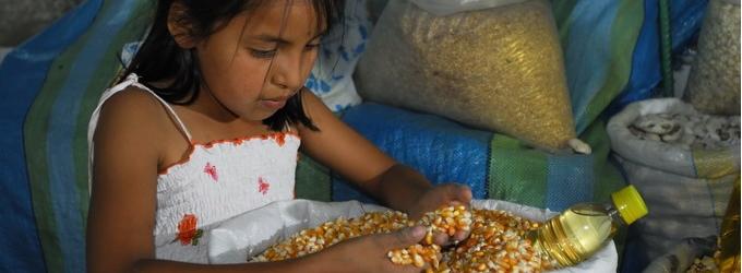 Foto: Raúl Egúsquiza / Niños del Milenio. La foto no corresponde a la niña entrevistada.