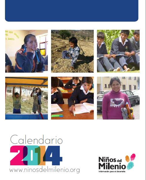 Calendario 2014: Vida y sueños de niñas, niños y jóvenes del Perú