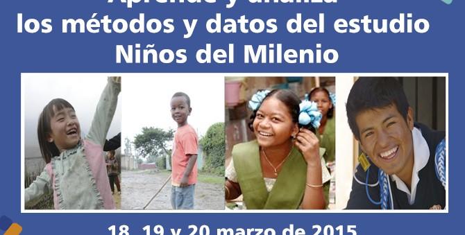 Taller metodológico del estudio Niños del Milenio en Perú  (18, 19 y 20 marzo de 2015)