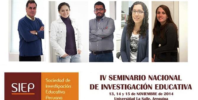 Niños del Milenio participó en IV seminario nacional de la Sociedad de Investigación Educativa Peruana (SIEP 2014)