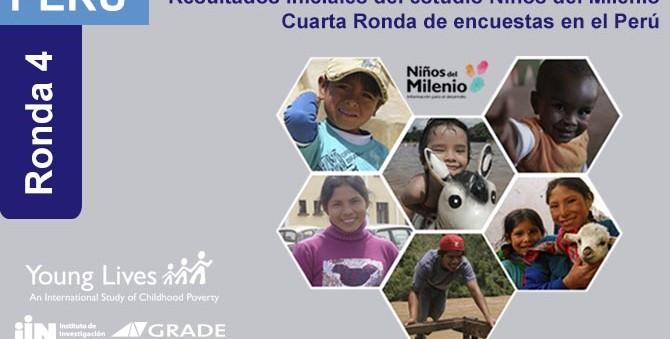 Debatirán nuevos resultados del estudio internacional Niños del Milenio, de GRADE
