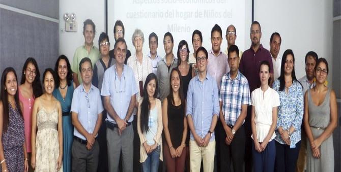 Se realizó con éxito el taller metodológico de Niños del Milenio en marzo del 2015