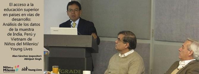 Sánchez discutió investigación sobre acceso a Educación Superior con representantes del Gobierno, la sociedad civil y la academia