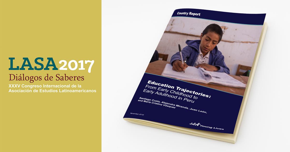 Estudio de Niños del Milenio sobre trayectorias educativas será presentado en LASA 2017