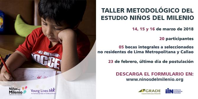 Taller Metodológico del Estudio Niños del Milenio en Perú (14, 15 y 16 marzo de 2018)